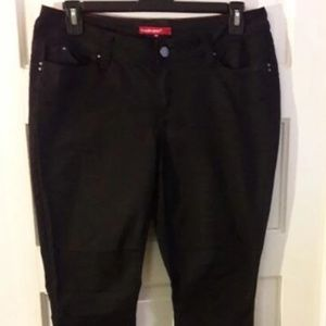 Y M I  USA Wanna Betta Butt women's black jeans